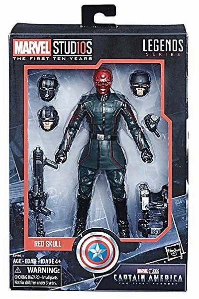 Hasbro Marvel Studios First 10 Years Red Skull 6 Inch Figure